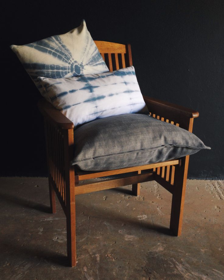 Hand-dyed Shibori Scatter Cushions.  Custom Sizes, high quality down inners, each piece of fabric hand-dyed by freerangeboy.  See freerangeboy on Facebook for purchasing info.