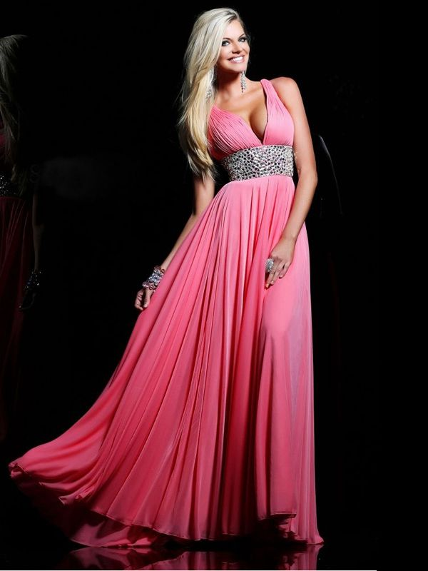30 mejores imágenes de Hot Pink Prom Dresses en Pinterest | Vestidos ...