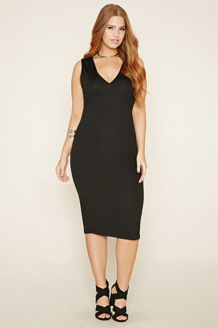 Sophisticated midi dressy dresses plus sizes
