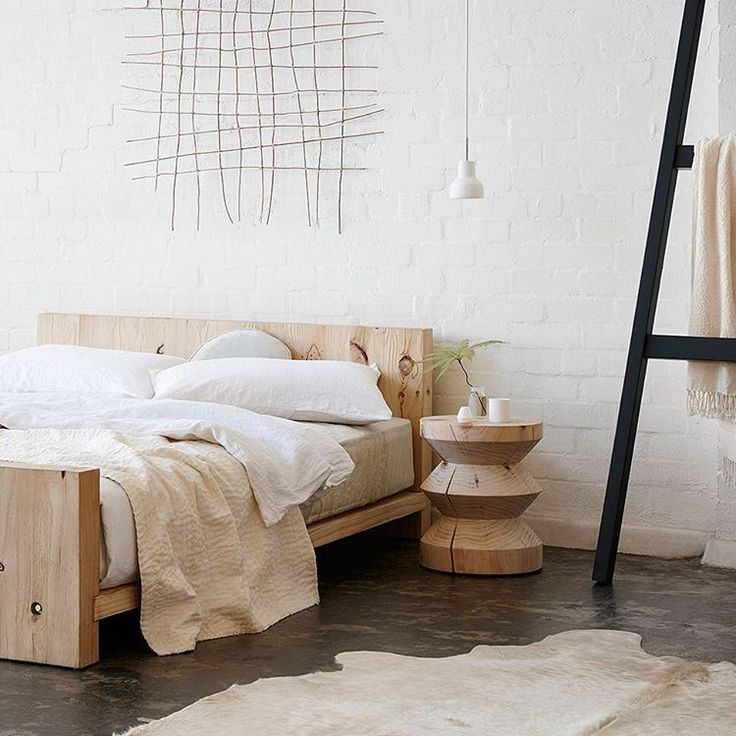 """Real Living Magazine na Instagramie: """"Mark Tuckey's new Basic bedframe is basically beautiful – need, want, love! #favefinds"""""""