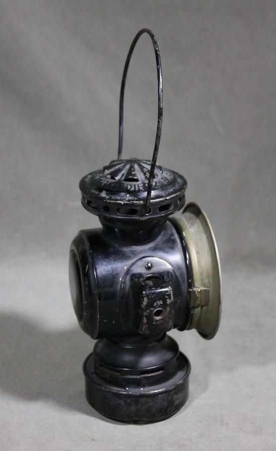 Antique Dietz Eureka Kerosene Driving Lantern Buggy