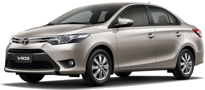 All-New Toyota Vios silver