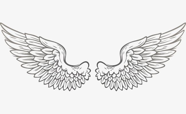 vector wings png and vector angel wings tattoo stencil neck tattoo wings drawing angel wings tattoo stencil neck tattoo