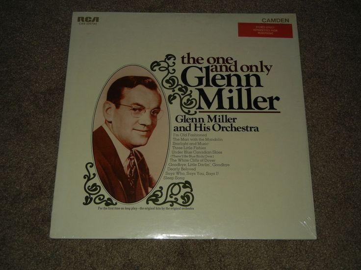 GLENN MILLER The One and Only Glenn Miller (LP, Music, Big Band, Orchestra)  #BigBandSwing