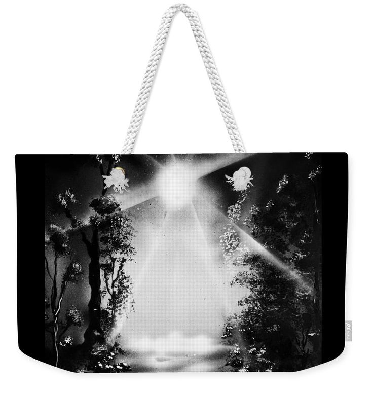 Awakening Dream Weekender Tote Bag Printed with Fine Art spray painting image Awakening Dream Nandor Molnar (When you visit the Shop, change the size, background color and image size as you wish)