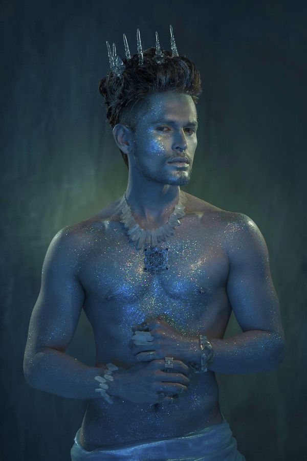 Maximo Official-POSEIDON THE ETERNAL GOD OF THE OCEANS on Makeup Arts Served