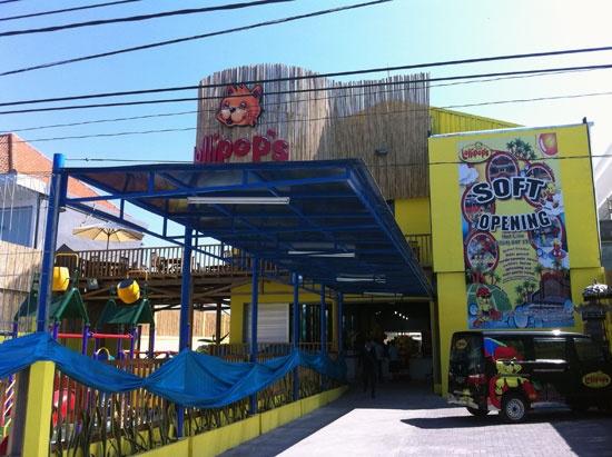 lollypops seminal Bali; indoor play area