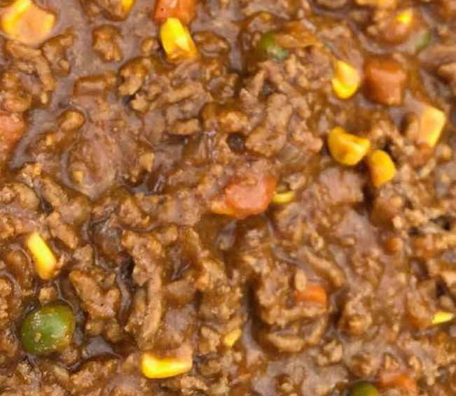 Savoury Mince In 2020 Savoury Mince Mince Dishes Minced Beef