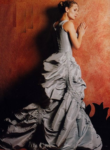 1997 Sandrine Bonnaire in Christian Lacroix                                                                                                                                                                                 More