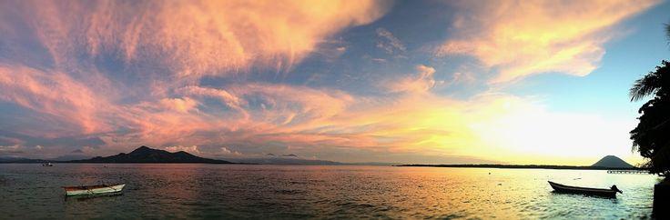 Onong Resort Siladen . Sunset . Celebes Divers