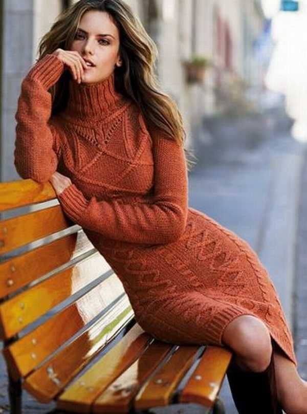25 Warm and Cozy Women Knitted Dresses For Winter 2016/2017 Fashion Craze