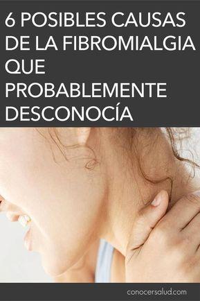 6 Posibles causas de la fibromialgia que probablemente desconocía #salud