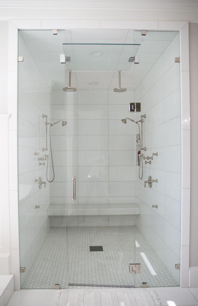 Modern Master Bath Shower Bathroom Shower Walls Shower Wall Tile Marble Tile Bathroom Shower