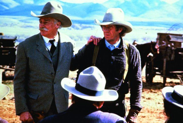 Still of Steve McQueen and Richard Farnsworth in Tom Horn (1980)