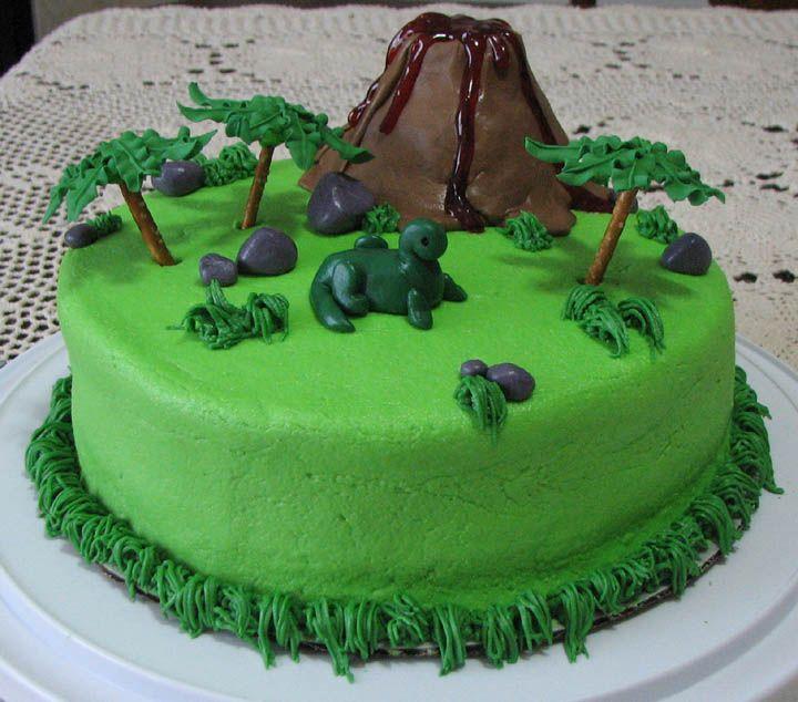 Dinosaur Birthday Cake Wilton: 11 Best Dino Party Ideas Images On Pinterest