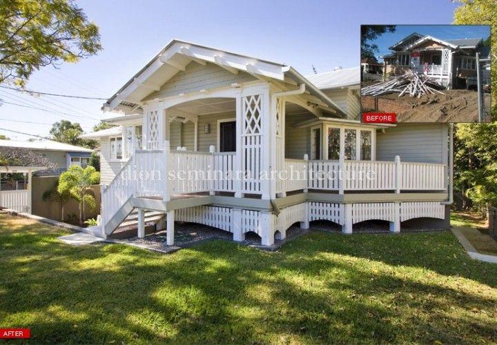 Hawthorne Workers Cottage Renovation Brisbane. Architecture by Brisbane Architect Dion Seminara Architecture.