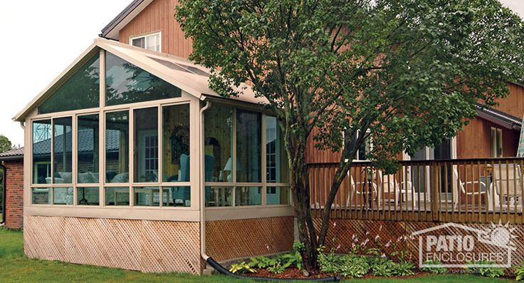 17 best images about sunroom exterior photos on pinterest seasons vinyls and four seasons - Types sunrooms advantages ...
