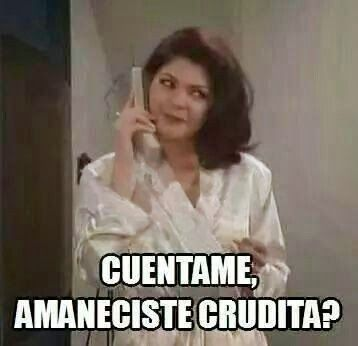 No Pinche MeMes!: Ah malditas crudas!!