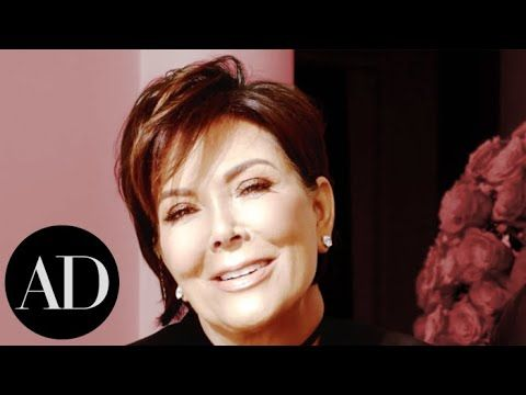 Kris Jenner On Her Kardashian-Jenner Family Christmas Holiday Décor | Ar...