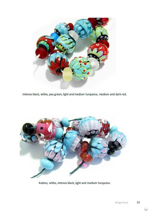 petal beads lampwork tutorial by magmabeads regis and trudy teixera