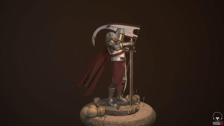 ArtStation - Warcraft 3 And For honor inspired Templar Knight |, Jon Ander Iglesias