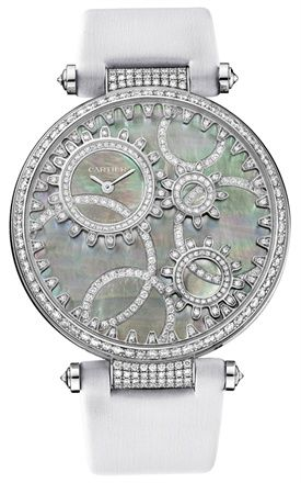 Cartier Temps Moderne de Cartier Wow! Lovely. I might be a bit intimated to wear this or any of the pieces pinned on this board...