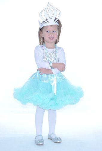 farsangi jelmez menta  pettiskirt tütü fancy dress Frozen Jégvarázs hercegnő