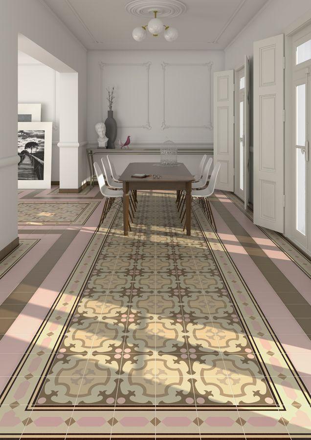 Serie 1900 est un carrelage, de la collection 1900, apparence carreaux ciment déco, parfait pour votre salon. | VIVES Azulejos y Gres S.A.