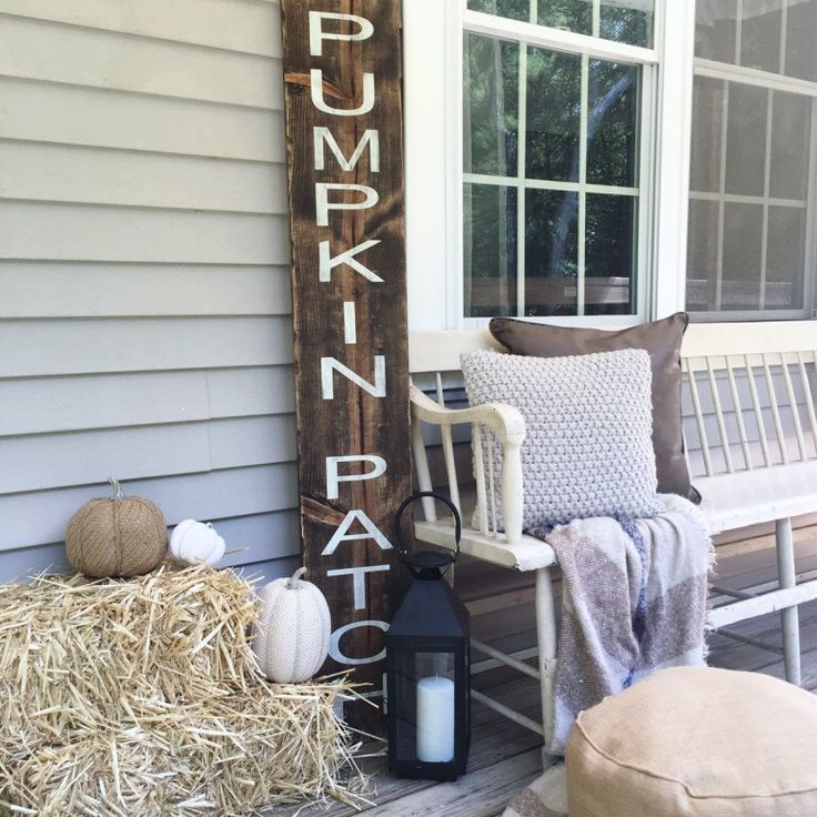 5 ft Pumpkin Patch Fall Porch Sign, Fall Porch Sign, Fall Porch Decor, Wooden Porch Sign, Give Thanks Porch Sign, Happy Fall Yall Porch Sign by FlawedtoFabulous on Etsy https://www.etsy.com/listing/460061672/5-ft-pumpkin-patch-fall-porch-sign-fall