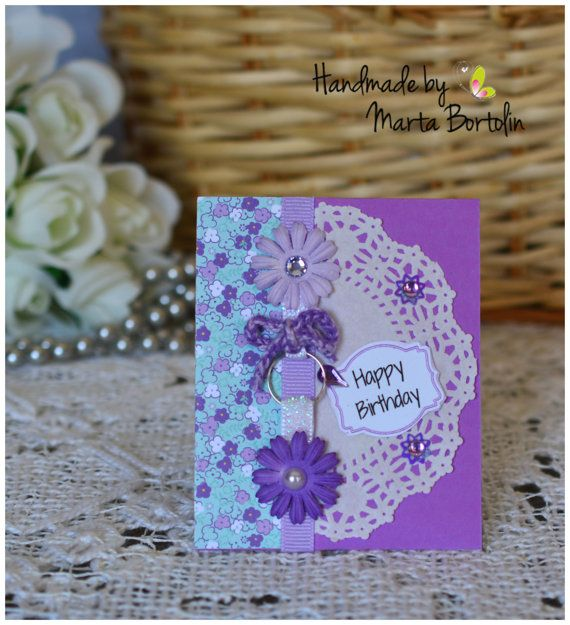 Happy Birthday Gift Card Holder Happy Birthday by tracesofcrafts