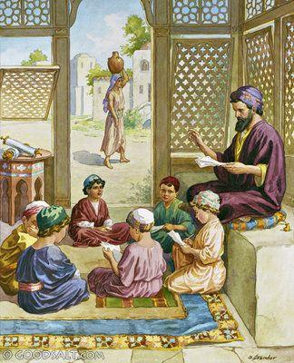 Acts 22: Synagogue School