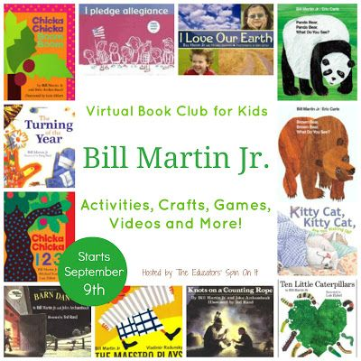 The Educators' Spin On It: Announcing the Bill Martin Jr. Virtual Book Club for Kids