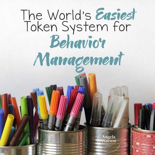 True to its name, this token system for positive behavior in kids is the easiest and simplest that you will find out there. To begin with, this system doesn't require you to track each child's behavior like with other token systems!