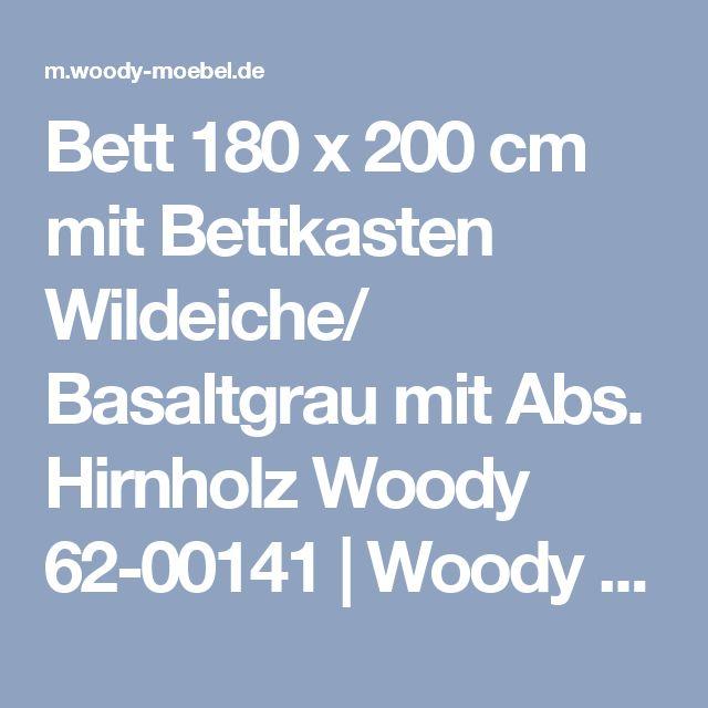 Great Bett x cm mit Bettkasten Wildeiche Basaltgrau mit Abs Hirnholz Woody online kaufen Tiefpreisgarantie Gratis Versand Auf Rechnung kaufen