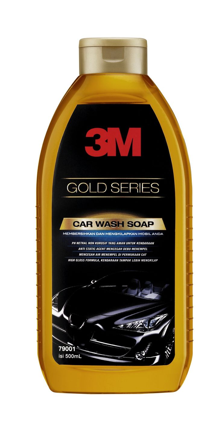 3m car wash soap gold series shampo cuci mobil terbaik yg paling bagus tak menghilangkan lapisan wax 3m car wash soap gold tidak hanya praktis