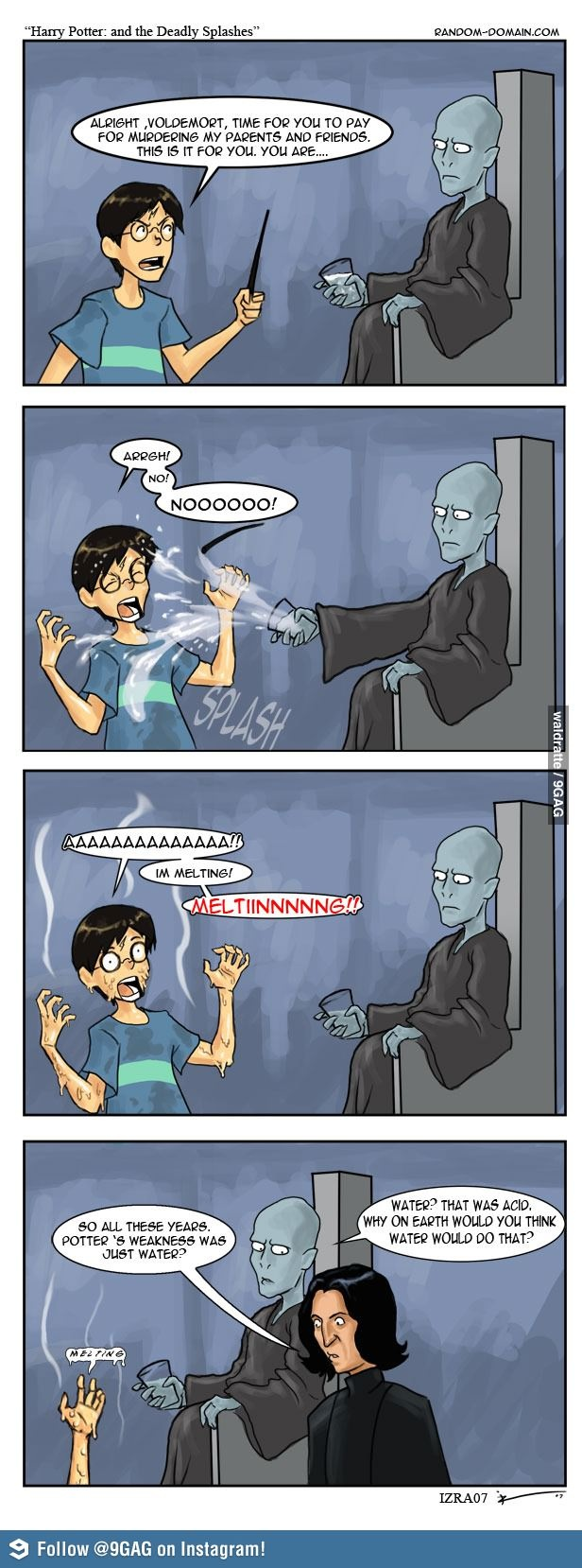 The secret of Harry Potter's weakness revealed!! Hahaha!