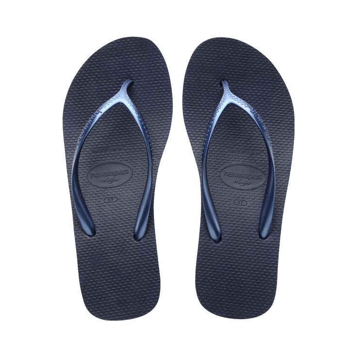 Havaianas High Fashion Navy Blue Flip Flops  Price From: 37,33 $CA