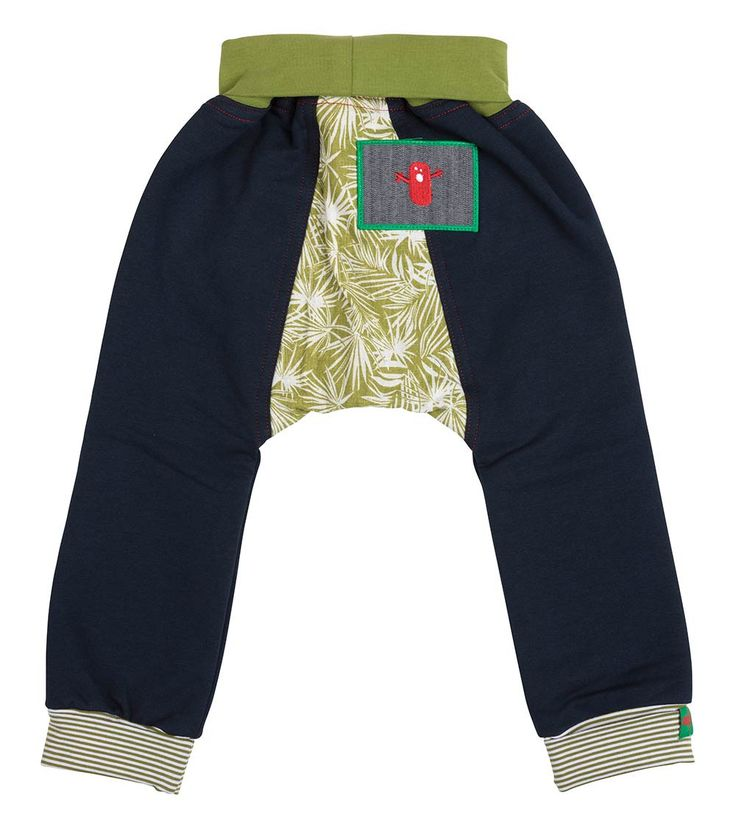 Iguana Track Pant, Oishi-m Clothing for kids, Autumn 2017, www.oishi-m.com