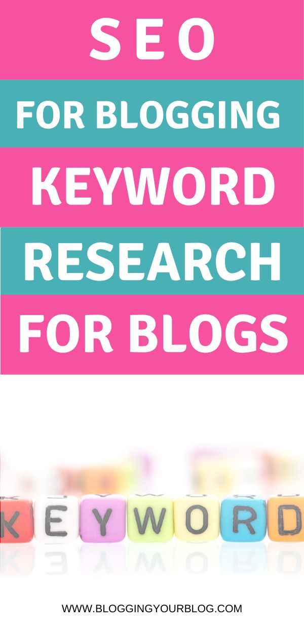 Seo For Blogging Do Keyword Research For Your Blog Posts Learn