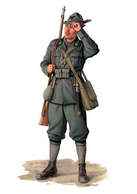 Italian, Mount.rifleman - Dmytriy Zgonnik
