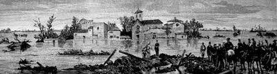 1879 Riada de Sta. TeresaLA RAYA SIN FRONTERAS [LRSF]: Riada de Santa Teresa: Murcia originó hace 130 años la primera campaña de solidaridad universal