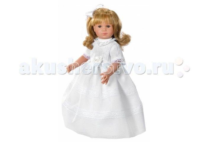 ASI Кукла Нелли 40 см 1250205  ASI Кукла Нелли 40 см 1250205   Эта милая невеста так очаровательна и грациозна в белоснежном платье! Чудесная кукла  из винила станет любимицей вашего ребенка, она устойчиво стоит на ровных ногах.  Длинные светлые волосы, распущены и слегка завиты. Аккуратный бант из органзы украшает миниатюрную головку.  Все куклы ASI создаются с использованием ручного труда. В каждую куколку мастер вкладывает свою душу! Ваш ребенок сразу почувствует тепло и доброту, которая…