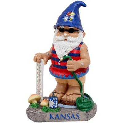 Kansas Jayhawks Temperature Gnome