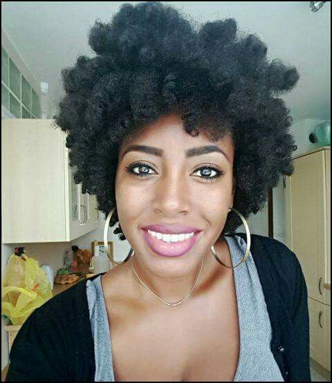 Chunky Twist Out For Short To Medium Length Hair...Attain Your Own Unique Style By Using A Similar  IG:@shanillia26
