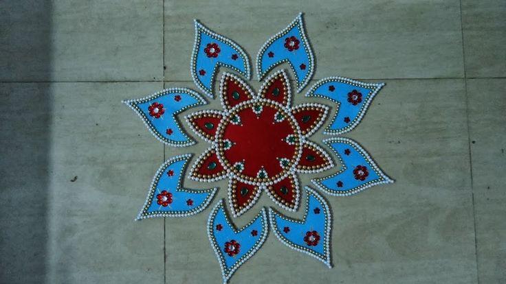 Beautiful Rangoli Designs for Diwali | Deepavali Rangoli Designs | Deepavali 2013: Deepavali Greetings Cards ...