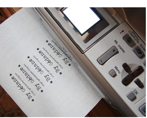 Imprimer sur du tissu le tuto. http://gedane-tutos.over-blog.com/article-imprimer-sur-du-tissu-102541491.html