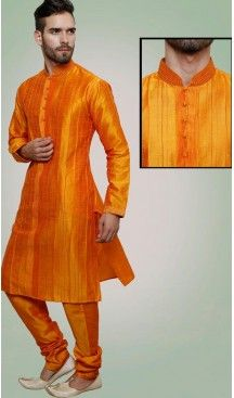 Orange Color Art Silk Party Wear Readymade Men Chudidar Kurta | FH554982863 Follow us @heenastyle  #menethnicwear #kurtapyjama #diwalidhamaka #menwear #ethnicwear #menethnicwear #kurta #menkurta #menkurtapyjama #Sherwani #indiankurtapyjama #instalike #instalove #follow4follow. #bhaiKiShaad #shervani #tradional #lucknow #selfiee #throwback #marriage #shervani #manyavar #heenastyle #menskurtapajama #menchuridarkurta