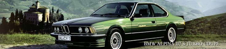 The first BMW 6 Series model. E24 history - http://www.bmwblog.com/2014/07/23/first-bmw-6-series-model-e24-history/