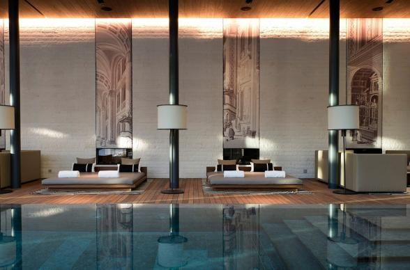 The Chedi has that classic Alpine chic thing down pat and they've added a bit of an Asian spin to set it all off in good spa style. Look to the Chedi Oriental Ritual for a combo of massage, facial, reflexology, crystal body polish, and an Oriental bathing ceremony.