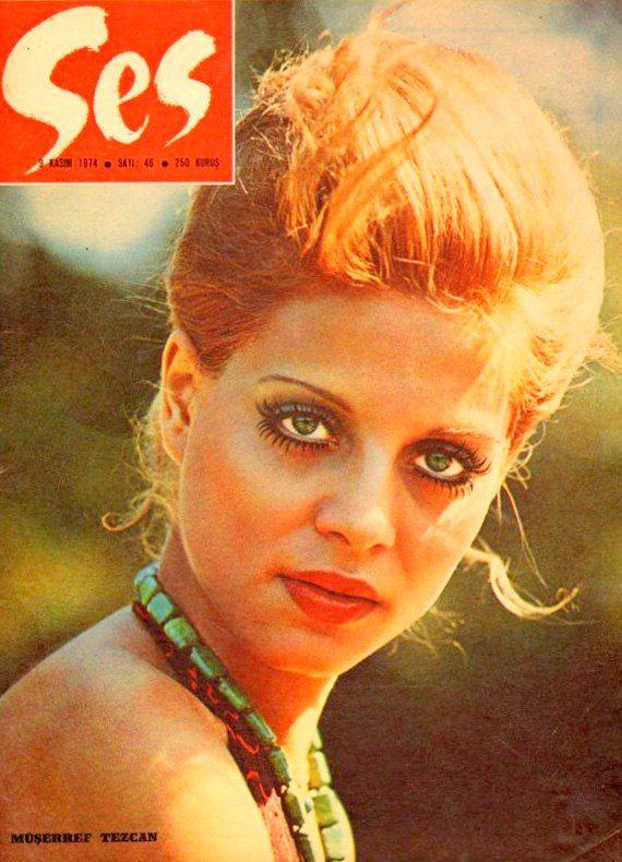 Müşerref Tezcan 1974 SeS dergisi kapağı.
